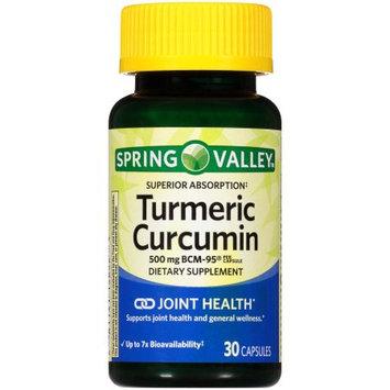 Lang Pharma Nutrition Spring Valley Superior Absorption Turmeric-Curcumin (BCM-95) 30ct