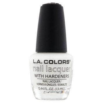 Beauty 21 Cosmetics, Inc. L.A. Colors NP164 French White Nail Lacquer, 0.44 fl oz