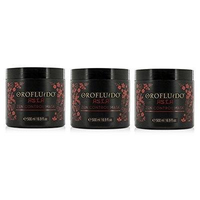 Orofluido Asia Zen Control Mask 16.9 oz/500 ml (Pack of 3)