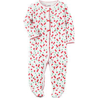 Carter's 1-Pc. Cherry-Print Footed Coverall, Baby Girls (0-24 months)