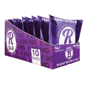 RBar Energy Peanut Butter & Jelly, 10 Bars 3 Ingredients