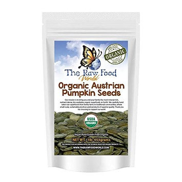 Organic Raw Austrian Pumpkin Seeds 16oz