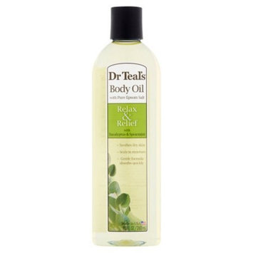 Dr. Teal's Relax & Relief with Eucalyptus Spearmint Body and Bath Oil 8.8 fl oz, pack of 1