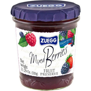 Zuegg Mixed Berries Fruit Preserve, 11.29 oz