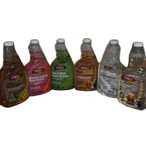Stain-X 6 Pack Chemical Cleanup Kit