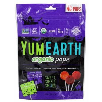 Yumearth Organic Halloween Pops, 40 count
