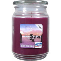 Candle Lite Mainstays 20-Ounce Scented Candle, Purple Sands