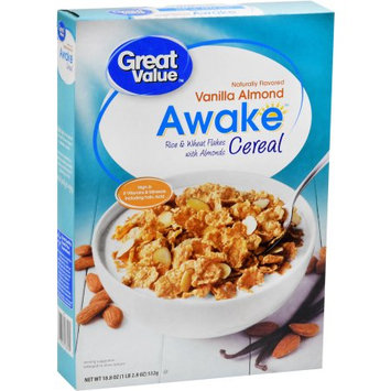 Great Value Vanilla Almond Awake Cereal