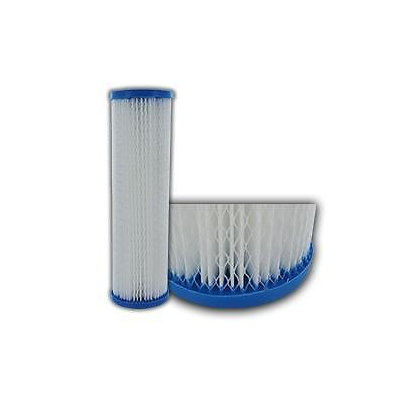 Premier 20 Polyester Pleated water filter cartridges 2.5 x 9.875 1 Micron