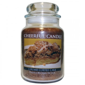 A Cheerful Candle JC92 15Oz. Natures Herb Garden Signature Colonial Jar