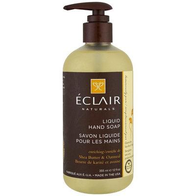Eclair Naturals, Liquid Hand Soap, Shea Butter & Oatmeal, 12 fl (355 ml) [Scent : Shea Butter & Oatmeal]