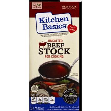 Kitchen Basics No Salt Beef Stock, 32 OZ (Pack of 2)