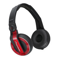 Pioneer DJ Headphones - Red - HDJ-500-R