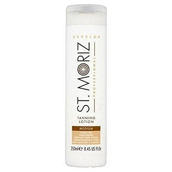 St. Moriz Professional Self Tan Lotion Medium 250ml (PACK OF 4)