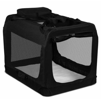 OxGord Foldable Soft Sided Pet Carrier Training Kennel, Indoor/Outdoor