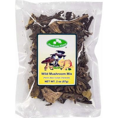 Mushroom House Dried Wild Mushroom Mix, 2 Ounce