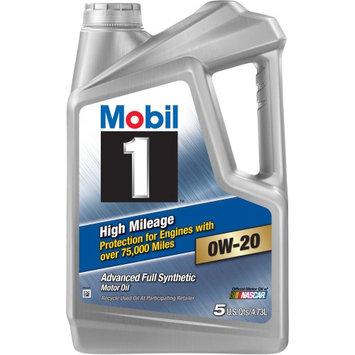 Mobil 1 High Mileage 0W20, 5 qt