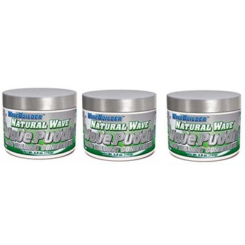 [ VALUE PACK OF 3] SPARTAN WAVE BUILDER NATURAL WAVE WAVE PUDDING HOLDING CONDITIONER 5 OUNCE EA : Beauty
