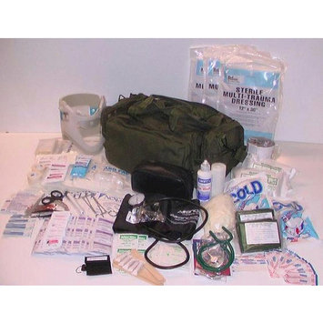 Fully Stocked M39 Medic Trauma First Aid Kit Bag