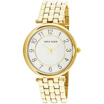 Anne Klein Women's AK-2700WTGB Gold Stainless-Steel Japanese Quartz Fashion Watch