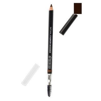 Benecos Eyebrow-Designer, All-Natural Eyebrow Pencil and Brush - Soft, Subtle, Natural Look, Vegan