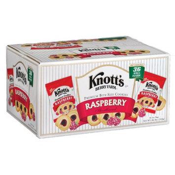 Biscomerica Knott's Cookies, Club Pack, Raspberry, 2 Oz, 36 Ct