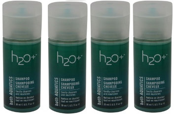 H2o+ Beauty H2O bath Aquatics Shampoo lot of 4 each 1oz bottles. Total of 4oz