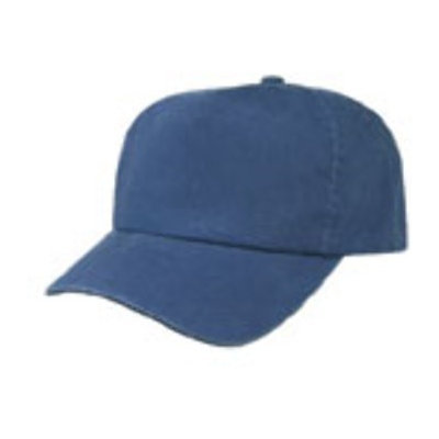 Ddi 5 Panel Washed Cotton Cap - Navy (Pack Of 144)