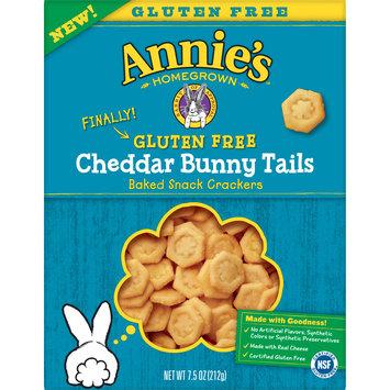 Annie's Gluten Free Baked Cracker Cheddar Bunny Tails, 7.5 oz Box