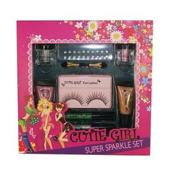 Super Sparkle Set with Eye Shimmer Powder, Lip Gloss & Eyeliner