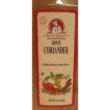 Chef's Quality Ground Corriander, 16 Ounce