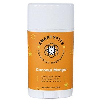SmartyPits - Natural/Aluminum Free Prebiotic Deodorant (Coconut Mango)