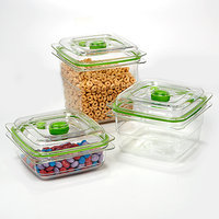 FoodSaver Fresh Containers 3 pc, Clear