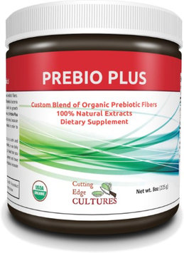 Cutting Edge Cultures Prebio Plus Prebiotic Fiber Powder Custom Blend Organic Prebiotic Fibers Dietary Supplement 8 oz