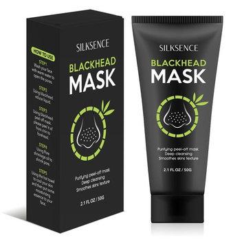 SILKSENCE Blackhead Remover Mask, Deep Cleansing Purifying Peel-Off Black Mask 50g