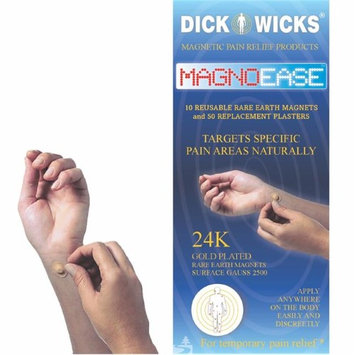 Dickwicks DW01MB10 Magnoease 10 Spot Magnets & Replacement Plasters