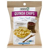 Simply 7 Snacks Simply7 Quinoa Chips Sea Salt 0.8 Ounce Bags