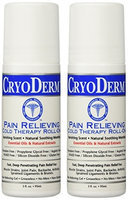 CryoDerm Pain Relieving Cryotherapy, 3 oz Roll-On
