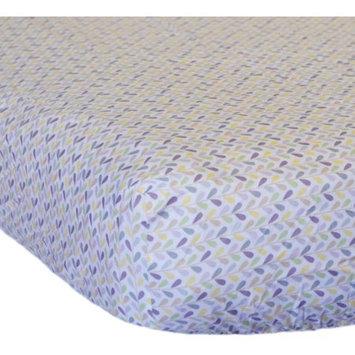 Go Mama Go Designs Love Petals Cotton Crib Sheet