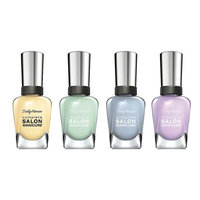 Sally Hansen Complete Salon Manicure, In Full Blue-M, Mum's The Word, What In Carnation and PardonM