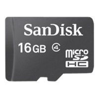 SANDISK MICROSD 16GB MEMORY CARD WITH ADAPTER