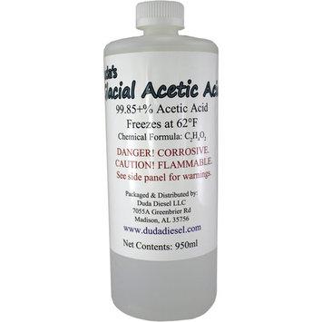 1 Quart / 950ml Bottle Food Grade Glacial Acetic Acid Vinegar Weed Killer