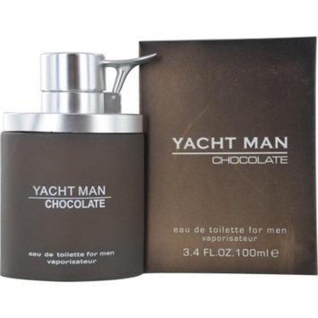 Myrurgia Yacht Man Eau de Toilette Spray for Men, Chocolate, 3.4 Ounce