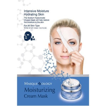 MASQUELOGY Masqueology Moisturizing Cream Mask, 10.5 fl oz