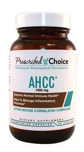 Prescribed Choice - AHCC Inflammatory Response Support 1500 mg. - 60 Capsules