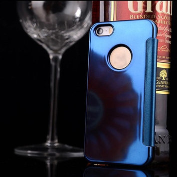 For iphone SE , TOOPOOT Mirror Flip Skin Protector For iPhone SE/5/5S