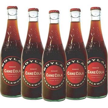Boylan Sugar Cane Cola Soda, 12 Ounce (12 Glass Bottles)