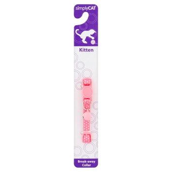 SimplyCat Kitten Collar - Polka Dot