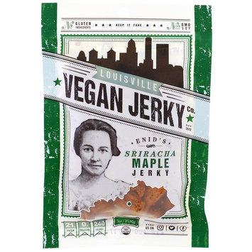 Louisville Vegan Jerky Co, Enid's Sriracha Maple, 3 oz (85.05 g) [Flavor : Enid's Sriracha Maple]