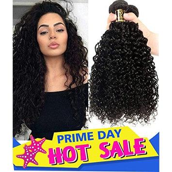 Yavida Brazilian Curly Hair 3 Bundles 8A Virgin Kinky Curly Human Hair Weave Unprocessed Brazilian Hair Bundles on Sale 20 22 24 Inch